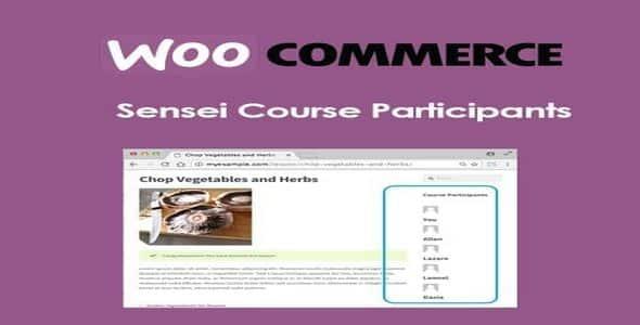 Plugin Sensei Course Participants - WordPress