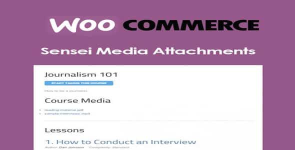 Plugin Sensei Lms Media Attachments - WordPress