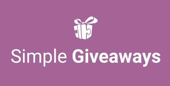 Plugin Simple Giveaways Premium - WordPress