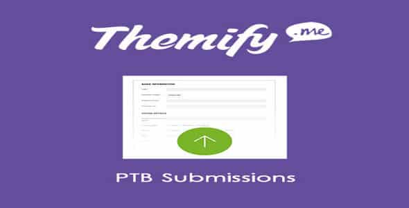 Plugin Themify Ptb Submissions - WordPress
