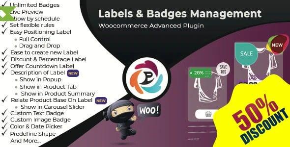 Plugin WooCommerce Advance Product Label and Badge Pro - WordPress