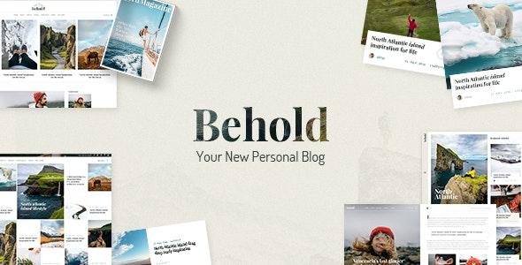 Tema Behold - Template WordPress