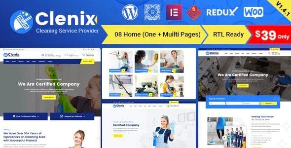 Tema Clenix - Template WordPress
