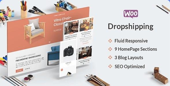 Tema Dropshipping - Template WordPress