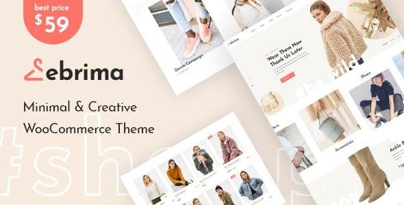Tema Ebrima - Template WordPress