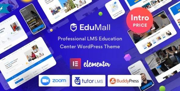 Tema Edumall - Template WordPress