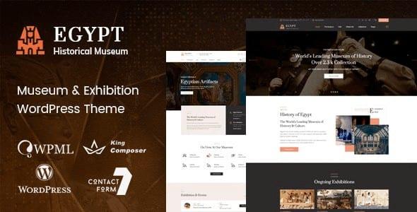 Tema Egypt - Template WordPress