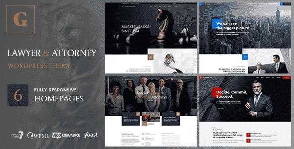 Tema Goldenblatt - Template WordPress