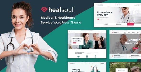 Tema HealSoul - Template WordPress