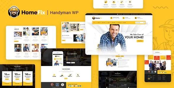 Tema Homefix - Template WordPress