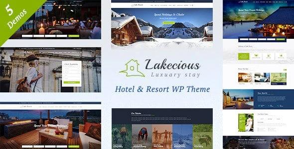 Tema Lakecious - Template WordPress