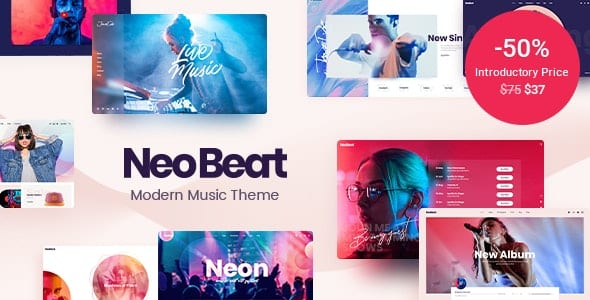 Tema NeoBeat - Template WordPress