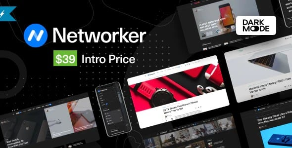 Tema Networker - Template WordPress