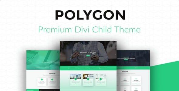Tema Polygon - Template WordPress
