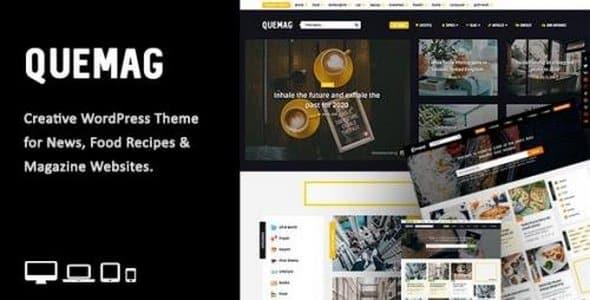 Tema Quemag - Template WordPress