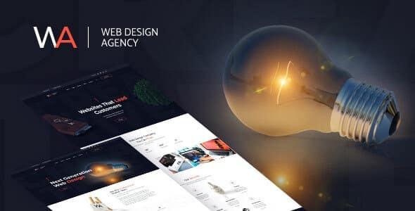 Tema Wagency - Template WordPress