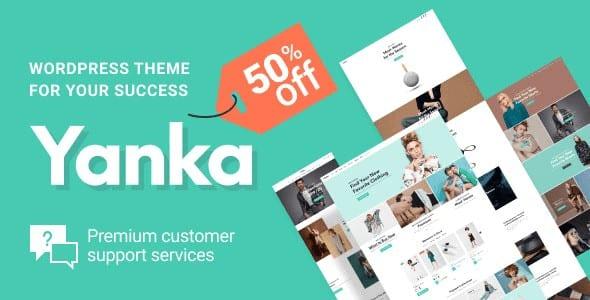 Tema Yanka - Template WordPress