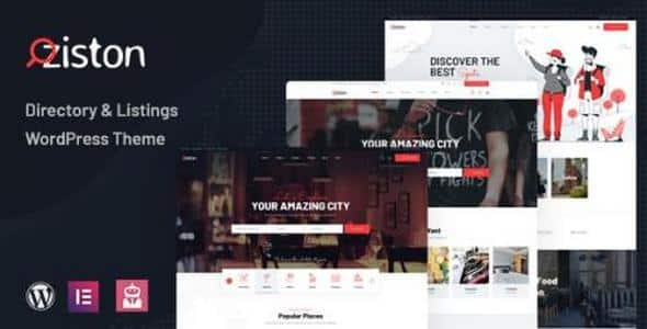 Tema Ziston - Template WordPress