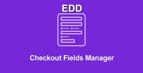 Plugin Easy Digital Downloads Checkout Fields Manager - WordPress