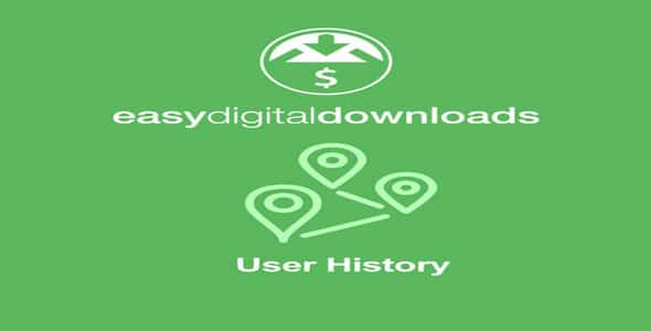 Plugin Easy Digital Downloads User History - WordPress