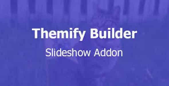 Plugin Themify Builder Slideshow - WordPress