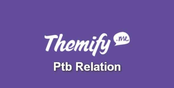 Plugin Themify Ptb Relation - WordPress