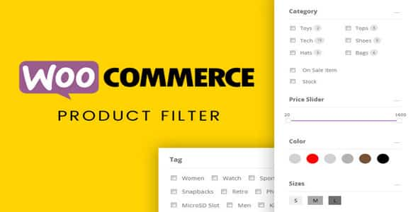 Plugin Themify WooCommerce Product Filter - WordPress