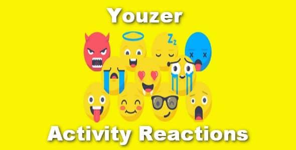 Plugin Youzer Activity Reactions - WordPress
