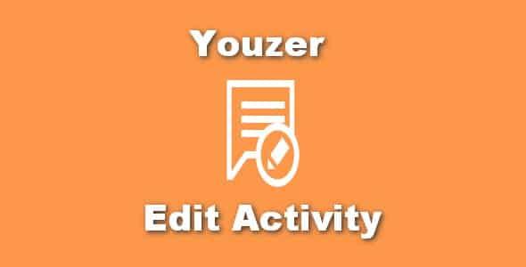 Plugin Youzer Edit Activity - WordPress