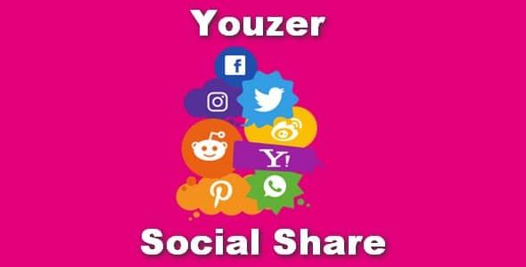 Plugin Youzer Social Share - WordPress