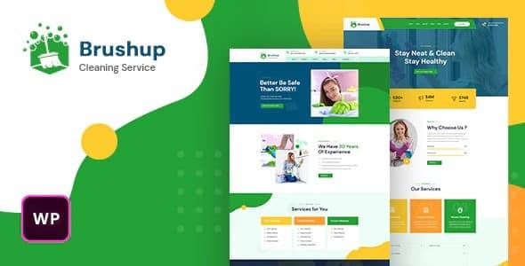 Tema Brushup - Template WordPress