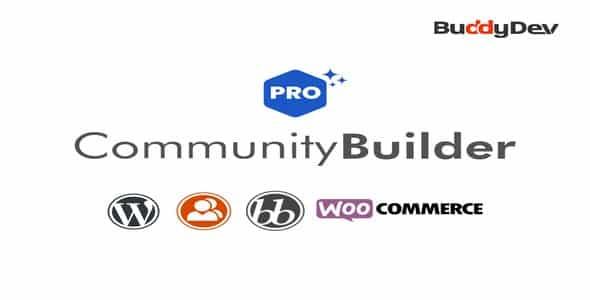 Tema Community Builder Pro - WordPress