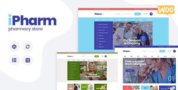 Tema Ipharm - Template WordPress