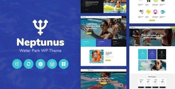 Tema Neptunus - Template WordPress