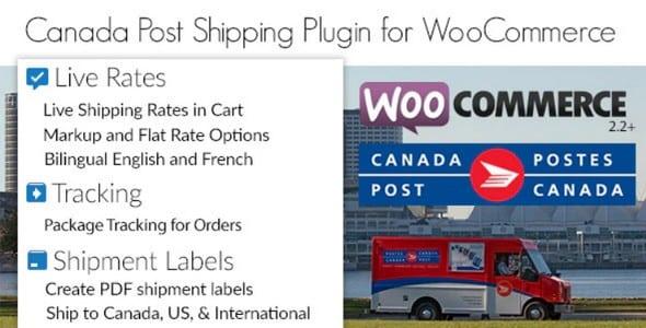 Plugin Canada Post WooCommerce Shipping Plugin - WordPress