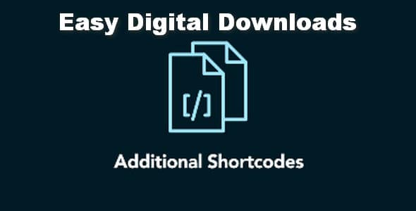 Plugin Easy Digital Downloads Additional Shortcodes - WordPress