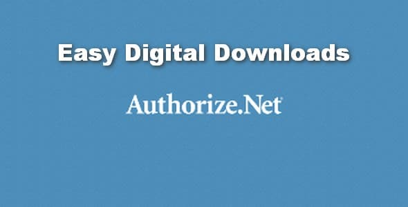 Plugin Easy Digital Downloads Authorize.net Payment Gateway - WordPress