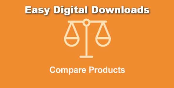 Plugin Easy Digital Downloads Compare Products - WordPress
