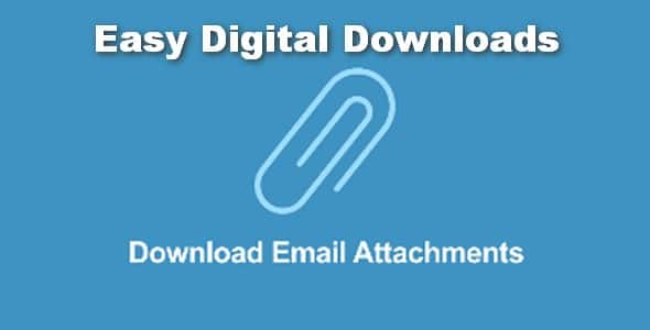 Plugin Easy Digital Downloads Download Email Attachments - WordPress