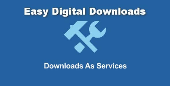 Plugin Easy Digital Downloads Downloads As Services - WordPress
