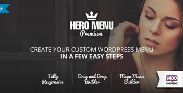Plugin Hero Menu - WordPress