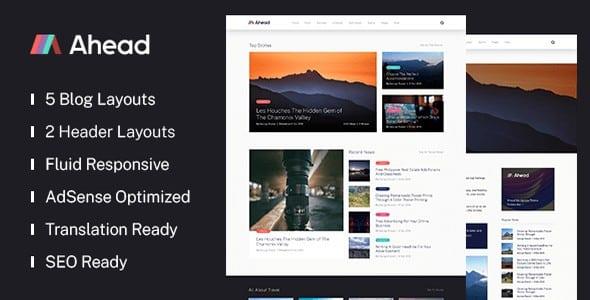 Tema Ahead - Template WordPress