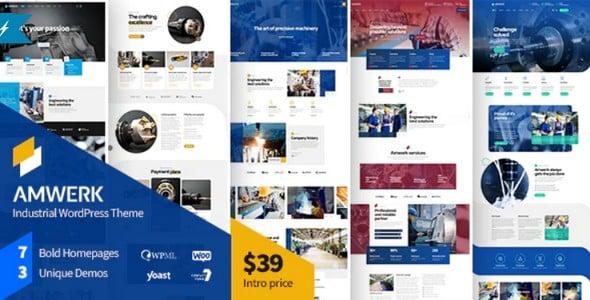 Tema Amwerk - Template WordPress