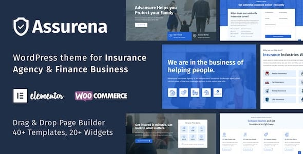 Tema Assurena - Template WordPress