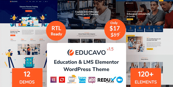 Tema Educavo - Template WordPress