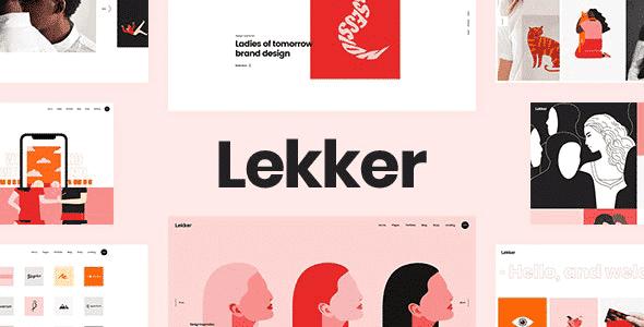 Tema Lekker - Template WordPress