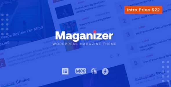Tema Maganizer - Template WordPress