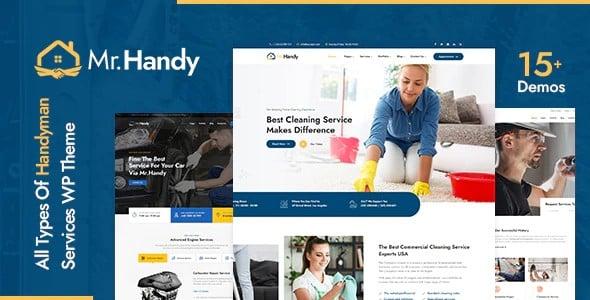 Tema MrHandy - Template WordPress