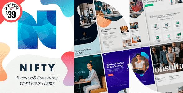 Tema Nifty - Template WordPress