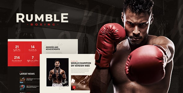 Tema Rumble - Template WordPress